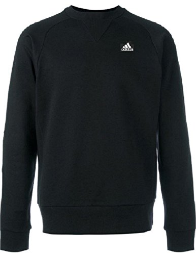 - adidas Performance Men's Long Sleeve Crewneck Sweatshirt SMU Supesoft Fleece (2XL, Legend Ink)