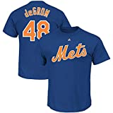Outerstuff Jacob deGrom New York Mets #48 Blue Youth Name & Number Jersey T-Shirt