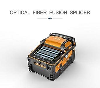 Amazon.com: Splicador de fusión de fibra óptica, máquina de ...