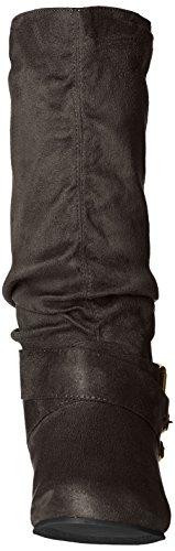 Brinley Co Women's Prospect-08wc Slouch Boot Grey I7xOhbo