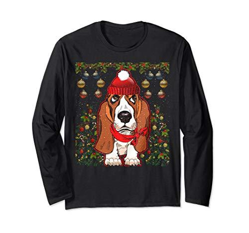 Basset Hound Dog Christmas Sweater