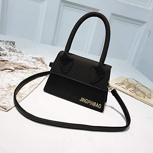 nero borsa WSLMHH tracolla donna a moda marroncino da moda marrone mini borsa Borsa selvaggio tracolla Swq0S6a