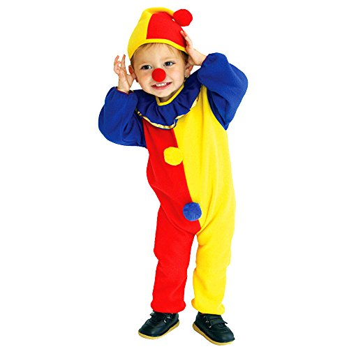 Quiz Costume Halloween (Baby Boys red nose Halloween Carnival Clown Circus Cosplay)