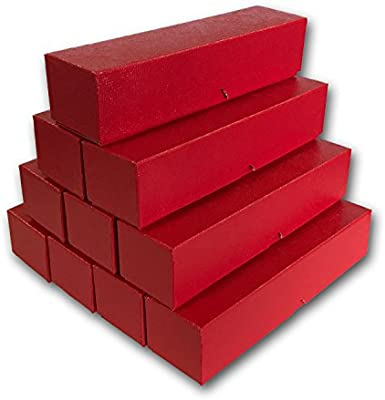 """9/""""x2/""""x2/"""" for 2x2 holders U-DO-ITS Flip Mylar Black Coin Storage Box-SingleRow"""