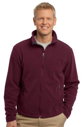 Port Authority Value Fleece Jacket, Maroon, Medium