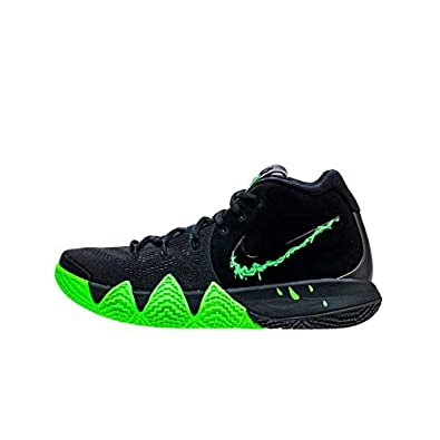 120ab275876a Image Unavailable. Image not available for. Color  Nike Kyrie IV 4 Halloween  Rage Green Black ...