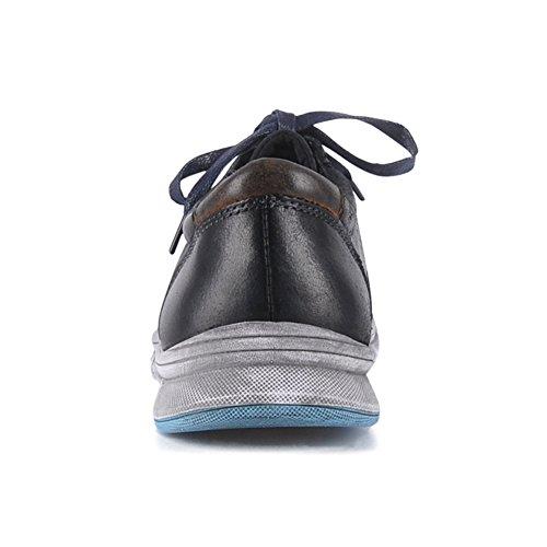 Hommes Cuir En Cir Bas Sneaker Modernes Haut Yolkomo Nubuck dUZWYq1x1f