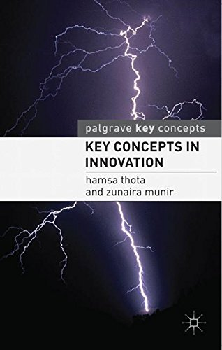 Key Concepts in Innovation (Palgrave Key Concepts)