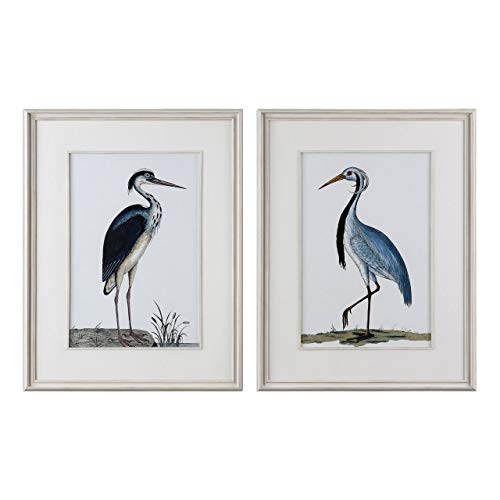 - Uttermost 2-Pc Shore Birds Framed Prints Wall Art Set