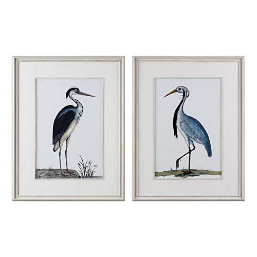 Uttermost 2-Pc Shore Birds Framed Prints Wall Art Set (Shore Wall Art Bird)
