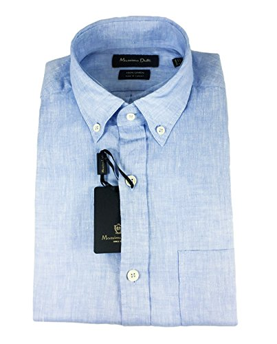 Massimo Dutti Homme Chemise unie lin casual fit 0143/110