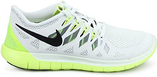 Nike Wmns Nike Free 5.0 - Zapatillas para correr para mujer - blanco/naranja
