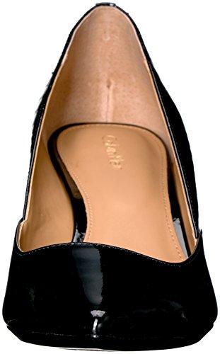 Calvin Klein Womens Patna Dress Pump, Black Patent/Python, 8 M US