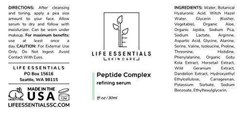 Peptide Complex Serum For Face - Boost Collagen To Heal