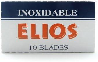 Elios - Cuchilla de afeitar (200 unidades, doble hoja)