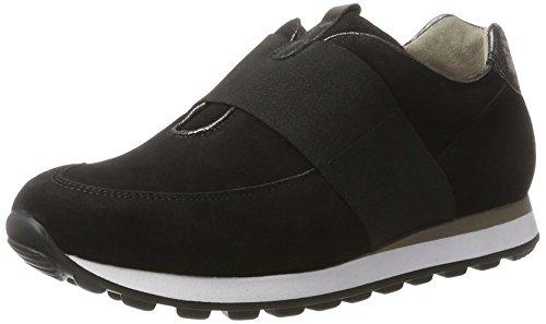 Gabor Dames Chaussures De Sport Confort, Gris Noir (noir 47)