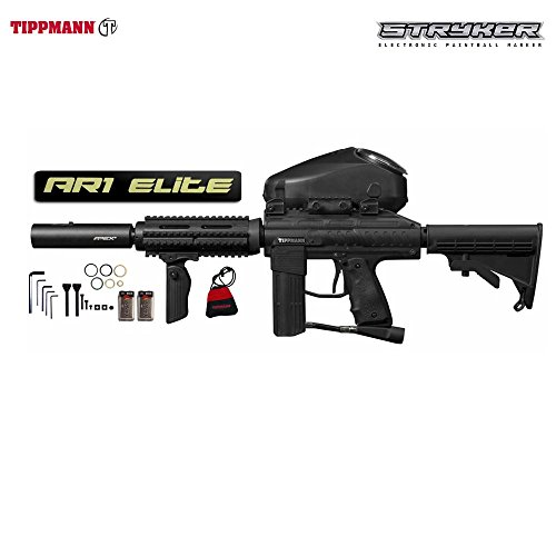 Tippmann Styker AR1 Elite Paintball Marker - Black