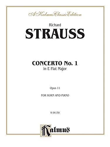 Horn Concerto No. 1, Op. 11 in E-Flat Major (Orch.) (Kalmus Edition)