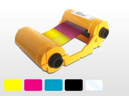 Dye Zebra - Zebra True Colours 800033-840 Ribbon Cartridge - YMCKO. IX COLOR RIBBON YMCKO 200IMAGE PER ROLL FOR ZXP SERIES 3 BP-SP. Dye Sublimation, Thermal Transfer - 200 Card by Zebra Technologies