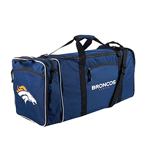 NFL Denver Broncos Duffle Bag, One Size, Navy by Concept One Accessories