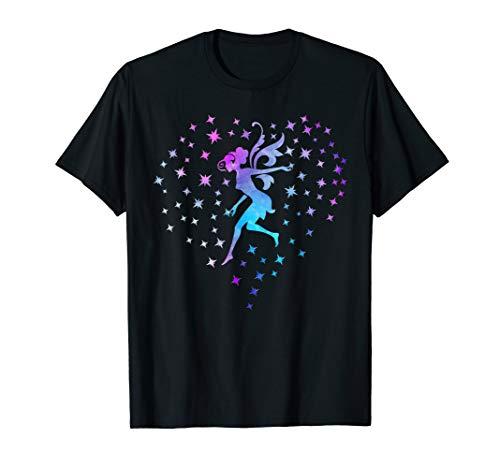 Fairy Dust Heart Love Fairies Watercolor Women Girls Mom Kid T-Shirt - Girl Fairy T-shirt