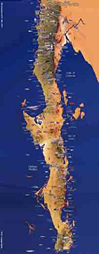 Baja California Mexico Map Poster