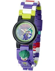 英亚:LEGO BATMAN 电影 THE JOKER 儿童迷你人偶表链 buildable 手表,现价:£13.75
