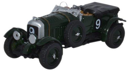 Oxford Diecast 1:76 Scale Bentley Blower Le Mans 1930 No.9 -