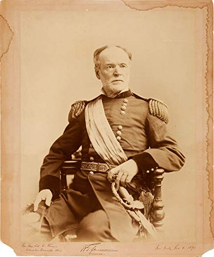 Photograph 1890 - General William T. Sherman - Inscribed Photograph Signed 02/08/1890