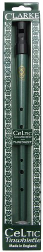 Clarke CWD Celtic Tin Whistle, Key of D - Pennywhistle Key Shopping Results