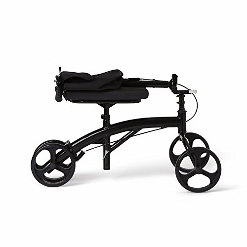 Healthcare Direct 100KW Steering Knee Walker with Hand Brakes, Basket Adjustable Height by Healthcare Direct (Image #5)