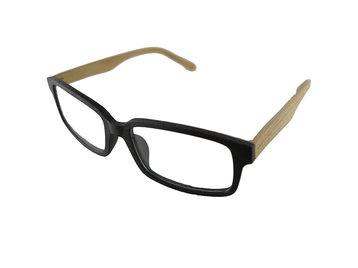 Mangekyo Vintage Wooden Glasses Frame Medium Rectanglar