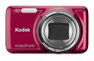 Kodak EasyShare M583 14 MP Digital Camera with 8x Optical Zoom and 3-Inch LCD - Red