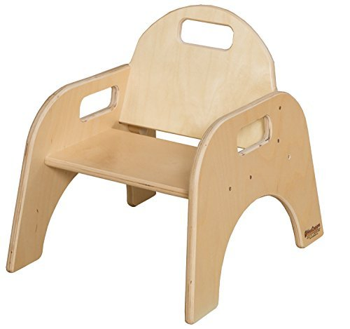 Wood Designs Stackable Woodie Toddler Chair, 7'' High Seat