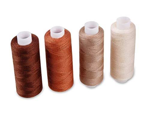 30 rocchetti colorati 22,9 m per ogni kit da cucito in poliestere Bobina di filo da cucito assortito multiuso