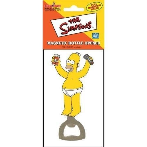 1 X Simpsons Homer Magnetic 3-D Bottle Opener