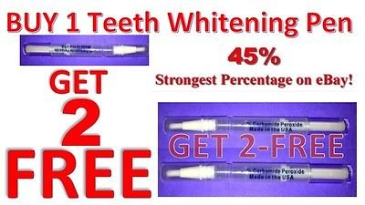 Price comparison product image Ultimate Strength 44% Peroxide Teeth Whitening Pen Tooth Cleaning Bleaching gel