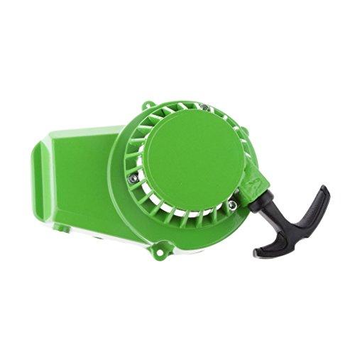 DYNWAVE Aluminum Pull Starter Starter Recoil 47cc 49cc Mini Pocket Bike ATV Green