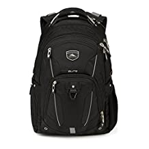 High Sierra Elite Backpack, Black