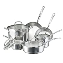 Farberware Millennium Stainless Steel 10-Piece Cookware Set