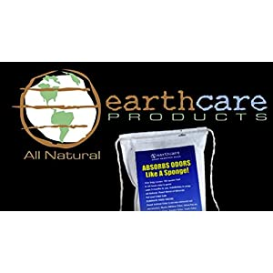 Earth Care Odor Removing Bag Stinky Smells Pet Odor etc (1 Pack)