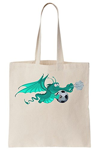 A Canvas Ball Bag Flying Dragon Soccer Tote With xH0XqqwE