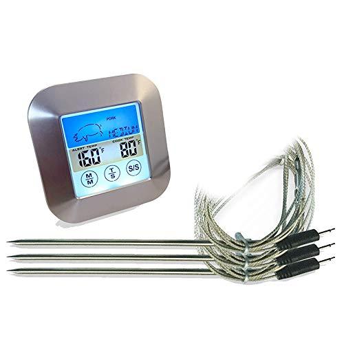 Compra SODIAL TermóMetro con 3 Sondas Sondas de Temperatura ...
