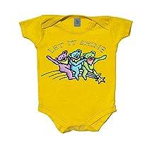 Grateful Dead Let It Shine One Piece Infant Romper by Dye the Sky