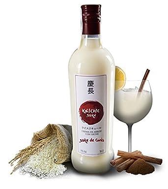 Keicho Sake de Coria Crema de Arroz con Leche Botella 70 cl [Pack 2 x 70 cl]: Amazon.es: Alimentación y bebidas