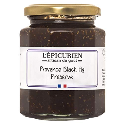 L'Epicurien, Fig Preserves from Provence | Non-GMO | Gluten-Free | All-Natural, 7.4 Ounce Jar (Multipack) (1)