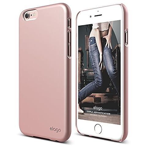 iPhone 6S Case, elago [Slim Fit 2][Rose Gold] - [Light][Minimalistic][True Fit] - for iPhone 6/6S (Phone Covers For Iphone 6 Elago)