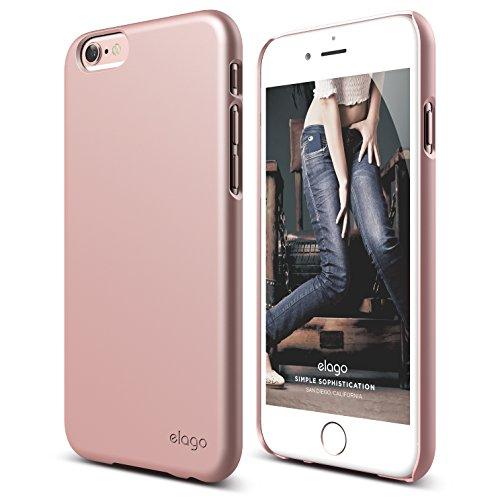 iPhone 6S Case, elago [Slim Fit 2][Rose Gold] - [Light][Minimalistic][True Fit] - for iPhone 6/6S