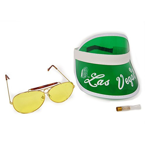 Raoul Duke Costume Las Vegas Visor Kit