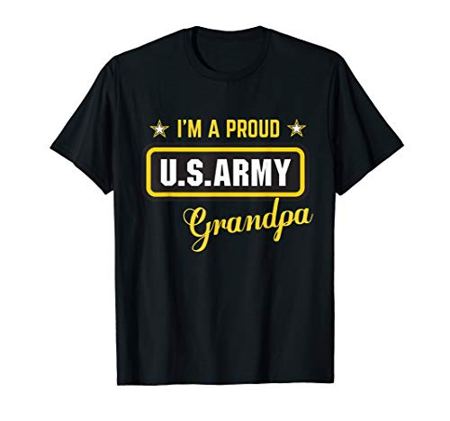- I'm A Proud Army Grandpa T-shirt
